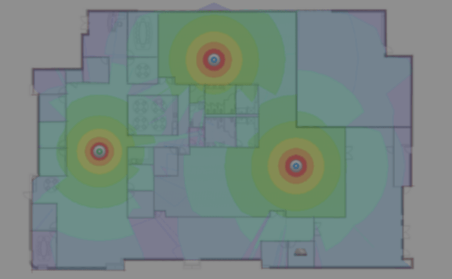 WiFi installeren en heatmapping